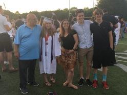 Gabby's graduation