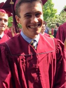 Kieran graduates
