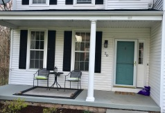 Porch before it got it's spring update