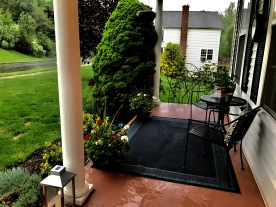 Porch after it's makeover