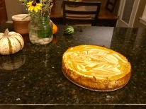 Pumpkin Cheesecake!