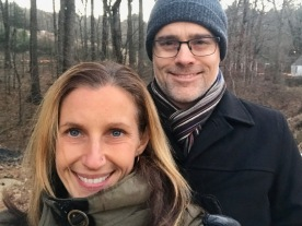 Me & the hubs at Sturbridge